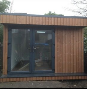 Luxury Cedar garden Buildings, Summer House, Cinema, Office, Accommodation.
