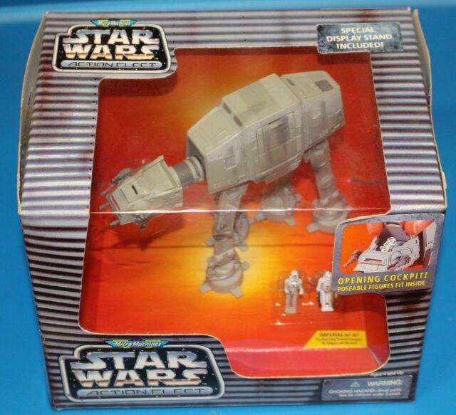 Star Wars Action Fleet IMPERIAL AT-AT WALKER HOTH MIB Galoob
