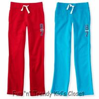 Ps Aeropostale Boys Size 7 Or 8 Kids Fleece Sweatpants Red Or Turquoise