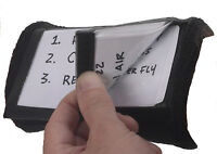 Markwort 3 Window Football Playbook Play Card Holder Coaches Coach Wristband