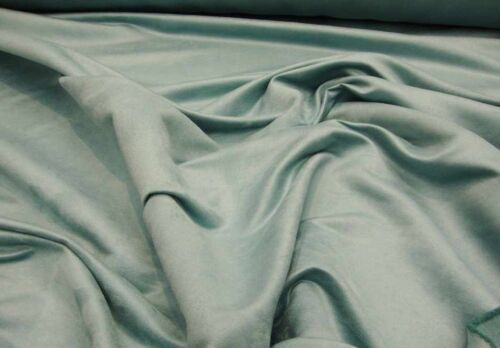 Suede faux Stone Blue Micro Suede Upholstery and Drapery Fabric sold BTY