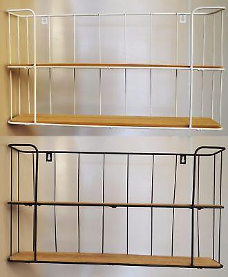 industrial kitchen shelf wall shelf bathroom shelf wood metal vintage shelf retro vintage ebay