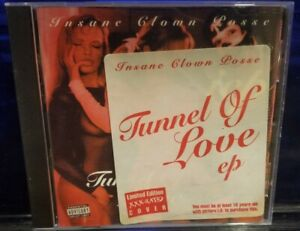 Insane-Clown-Posse-Tunnel-of-Love-XXX-CD-1st-Press-Discmaskers-rare-twiztid