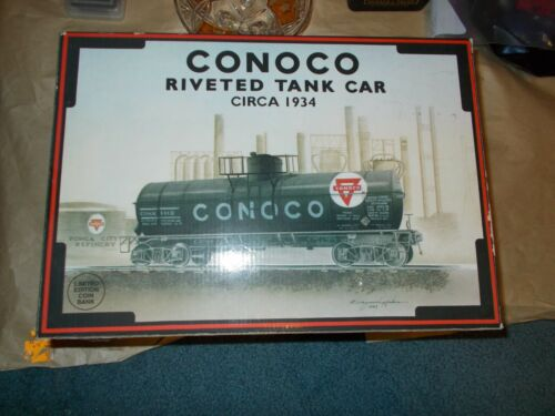 K-Line BRAND NEW Details about  /Conoco Riveted Tank Car Circa 1934 1994 Collector Series #9