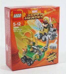 NEU-Lego-76091-Thor-vs-Loki-Minifigur-Set-Marvel-Superhelden-Avengers