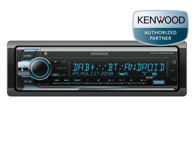 Kenwood KDC-X7200DAB CD USB Bluetooth DAB+ Aux IN