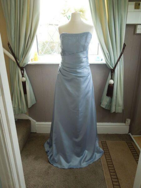 Alfred Angelo Palla/ballo/abito Damigella D'onore Misura Uk 14 Splendida-esmaid Dress Size Uk 14 Stunning Alleviare Il Calore E La Sete.