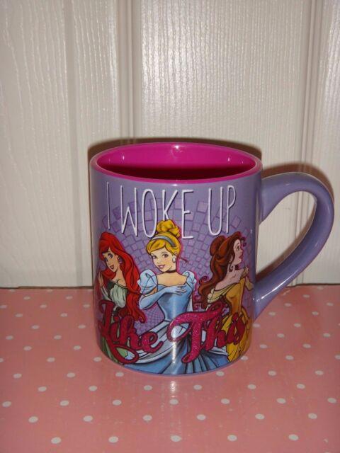 Purple I Disney Pottery Like Pink Coffee Princess Tea Cup Woke Mug 14 Up This Oz TFl1cKJ3