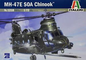 Italeri-1218-1-72-Scale-Model-Military-Helicopter-Kit-U-S-MH-47-E-Soa-Chinook