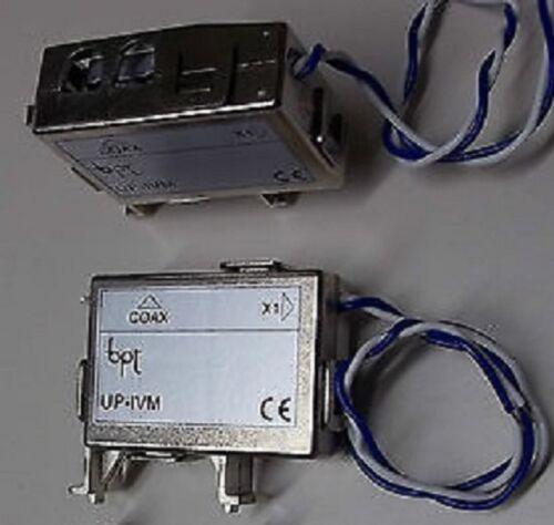 BPT UP//IVM INTERFACCIA COAX-X1 DERIVATORE VIDEOCITOFONO COD 65340400