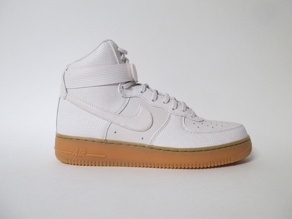 Nike Womens Air Force 1 High Phantom White Iron Gum Sz 12 860544-001