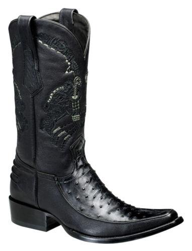 Cuadra Boots Struisvogel Made 1b15a1 Urban Western f7gy6b