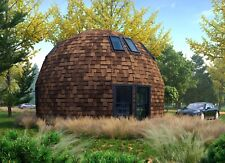 Moon House 26 Diam Dome Framing Kit Prefab Wood Pre Cut Diy Home Frame A680sf