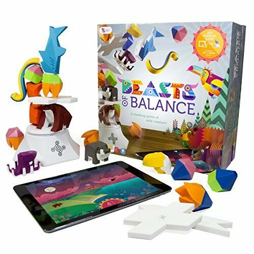 Beasts of of of Balance digital tabletop hybrid stacking family game ages 6+. Build t 922afb