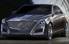 CADILLAC CTS 2014 2015 E&G HEAVY MESH GRILLE UPPER ONLY 1007-010U-14H