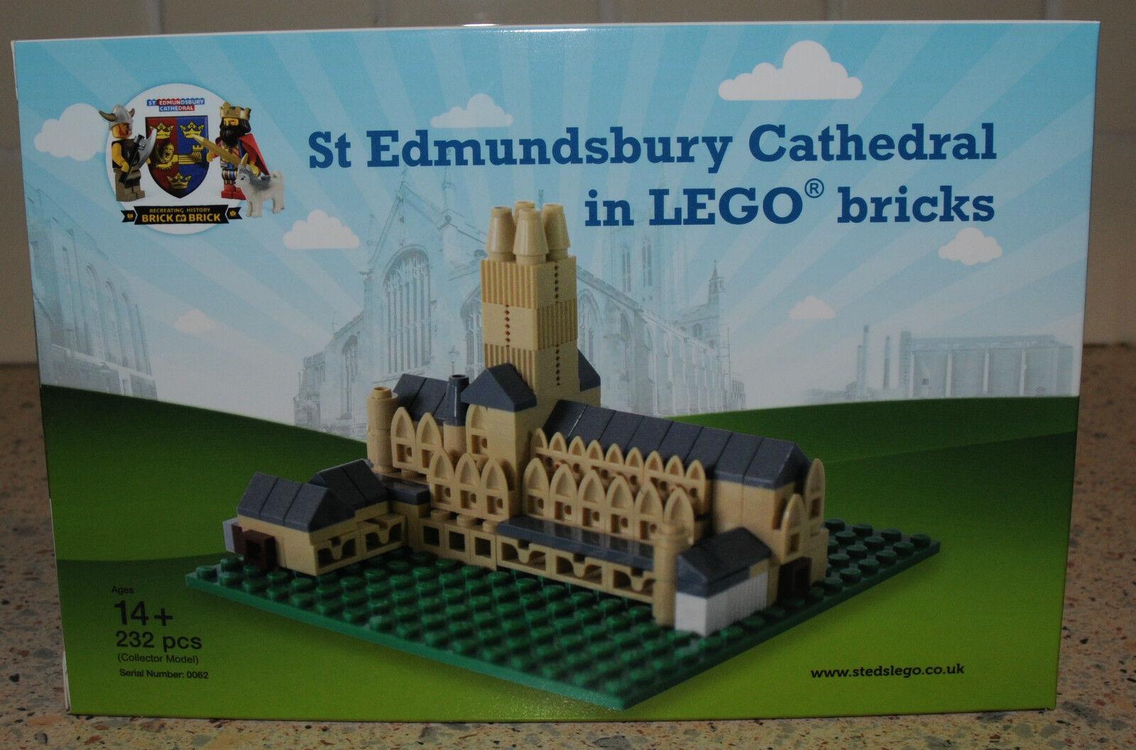 RARE BRILLANTI mattoni Ltd Edit LEGO ST edmundsbury Cattedrale KIT - 1 di solo 500