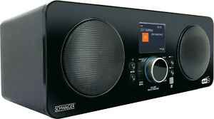 SCHWAIGER Internetradio DAB DAB+ Internet Radio WLAN FM UWK Bluetooth AUX USB