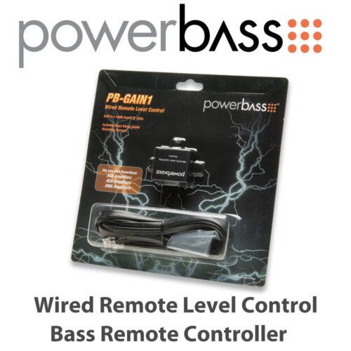 Powerbass ganancia 1-con cable de control remoto de nivel bajo control remoto