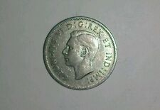 1941 CANADA KGVI NICKEL 5 CENTS BEAVER COIN, KM-33 IN CHOICE VERYFINE CONDITION