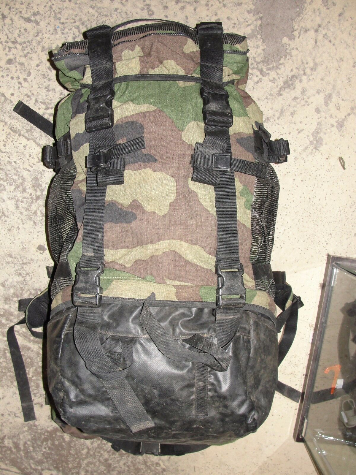 Sac  à dos Chasseur Alpin camouflage C E camo centre Europe Armée Française cam  Envío rápido y el mejor servicio