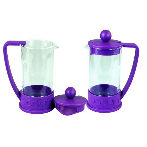 0.350l,Replacement Beakers Bodum Brazil Cafetiere Jugs x2 Purple