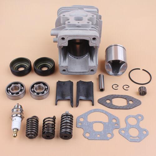 Cylinder Piston Kit For Husqvarna 240 235 236 Saw Crank Bearing Seal Gasket 39mm