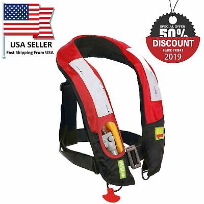 kumbukgete.sch.lk A+ Quality M-33 Manual Inflatable Life Jacket ...
