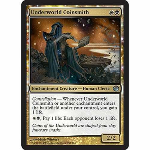 MTG JOURNEY INTO NYX Underworld Coinsmith