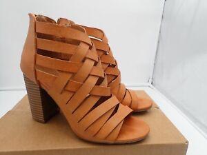 Rampage-Tariah-Sandal-Women-039-s-Brown-size-7-M