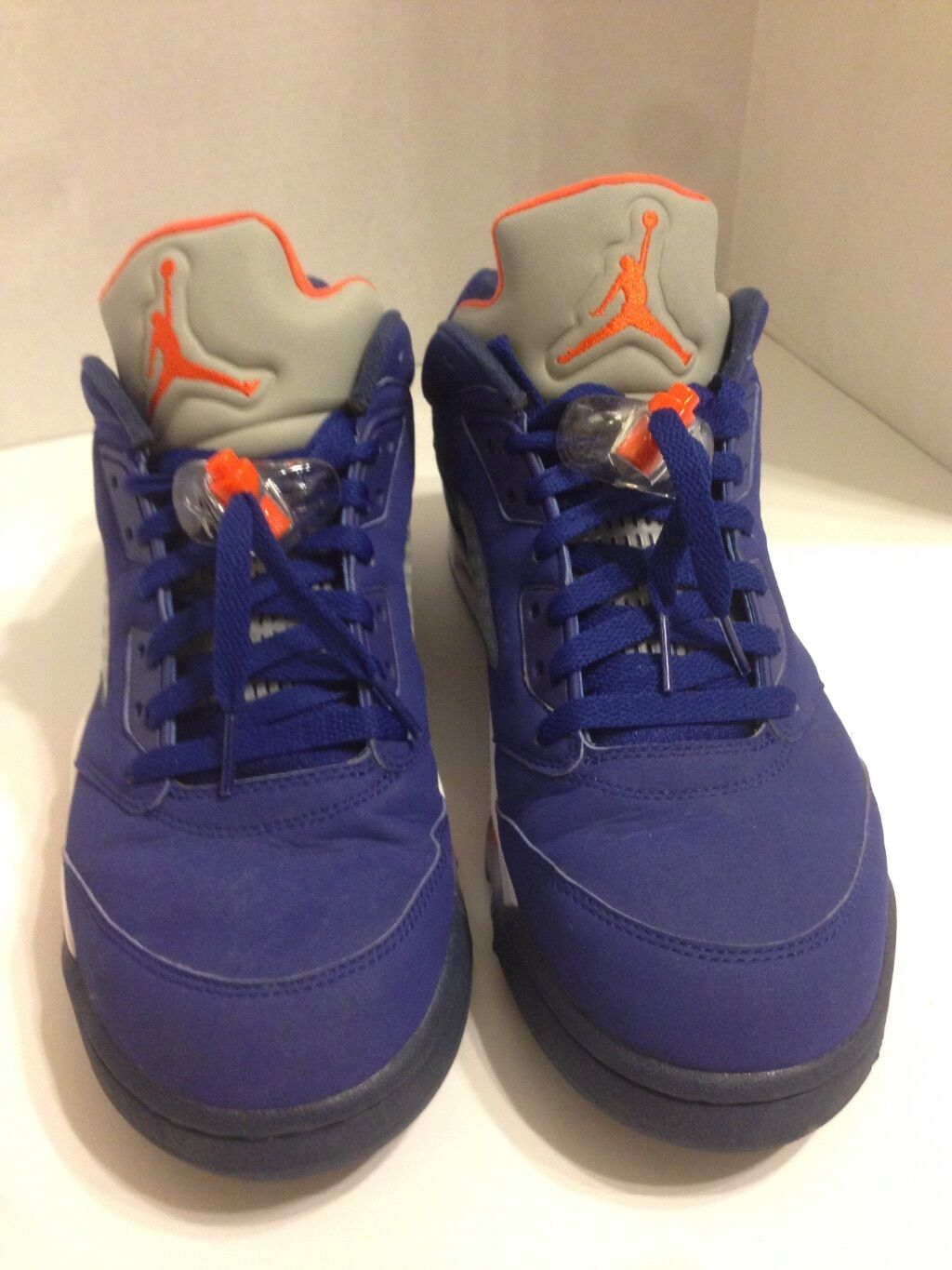 Nike Air Jordan 5 V Retro Low Knicks NY Royal Blue Orange Comfortable Special limited time