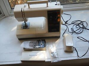 Sears kenmore sewing machine model 385 16841 w foot for Machine a coudre kenmore modele 385