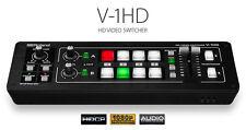 Edirol v1hd HDMI FULL HD mixer video NUOVO OVP immediatamente disponibile Top
