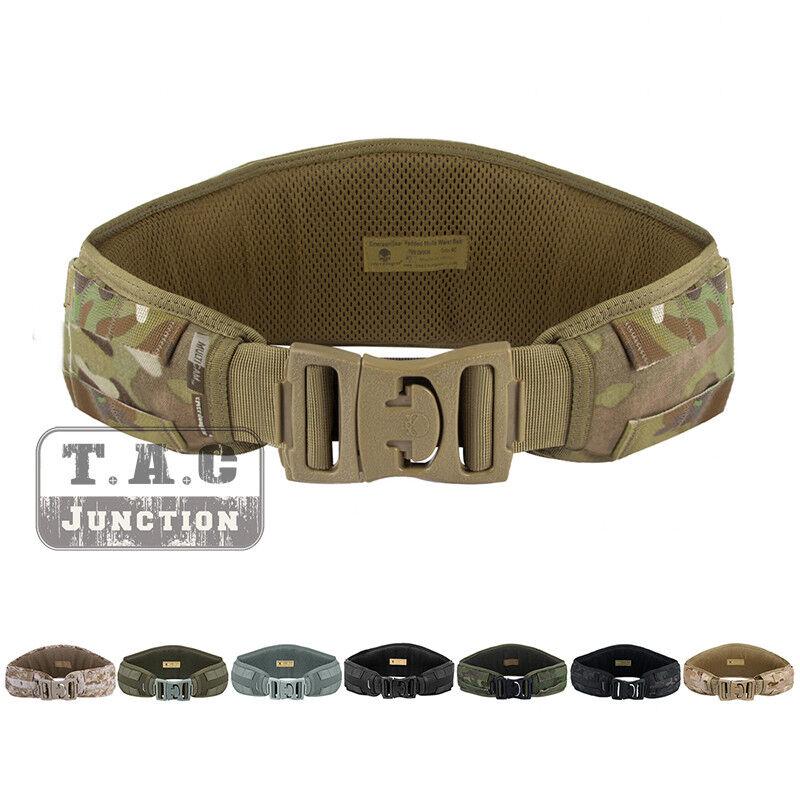Emerson Tactical Padded MOLLE  PALS Waist Belt Battle Combat Multi Function Belt