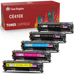 5 PK Toner Cartridge CE410X 305X Set For HP Laserjet pro 400 Color M475dw M451dn