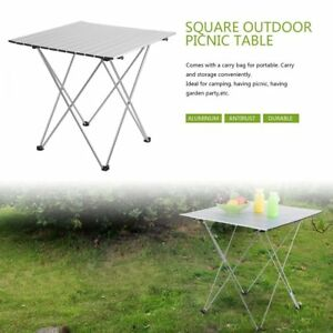 Gentil Image Is Loading Aluminum Roll Up Table Folding Camping Outdoor Indoor