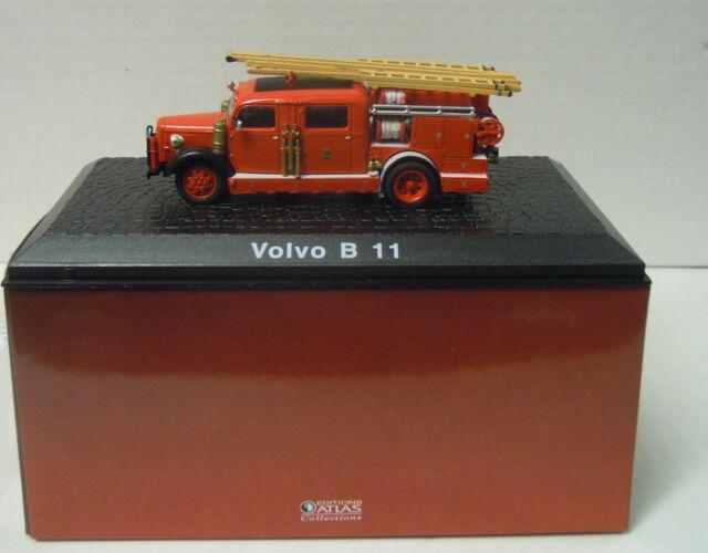 Fire Brigade Volvo B 11, 1:72, Atlas, Finshed Model, New