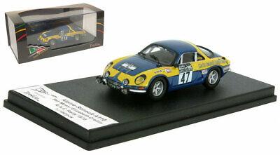 Alpine Renault a110 1600-Rally de Monte Carlo 1973-Henry 1:43 Trofeu 0823