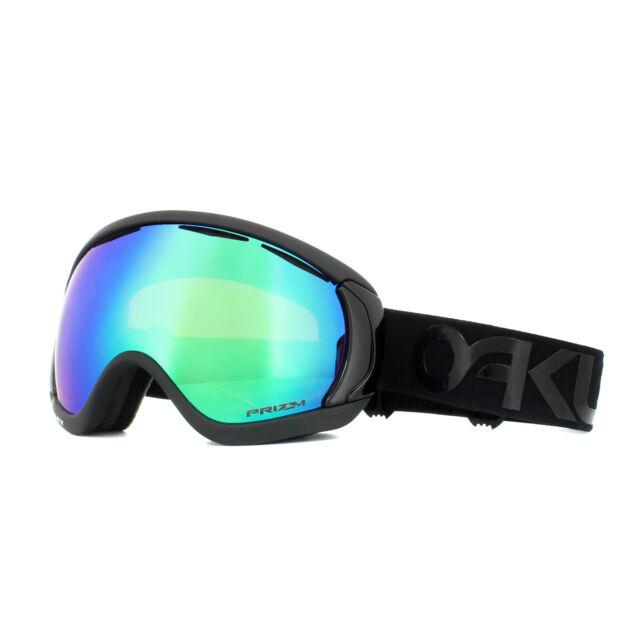 83f667a96ca3 Oakley Ski Goggles Canopy OO7047-68 Factory Pilot Blackout Prizm Snow Jade  Irid