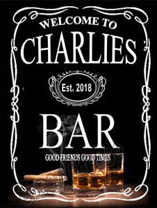 Custom Bar Man Cave sign, mancave,gift Funny, Jack Daniels pub ...