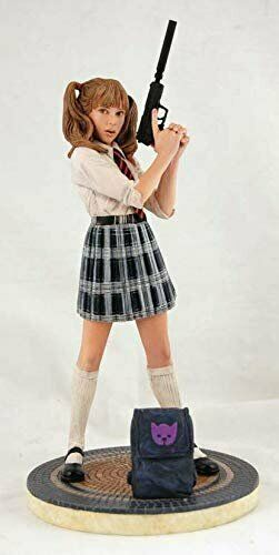 Dynamic Force Kick-Ass  Hit Girl as Mindy MacReady Schoolgirl Schoolgirl Schoolgirl Statue Red 002