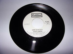 Ronnie-Hawkins-Down-In-The-Alley-45-Rpm-Promo-1970-Rare-Blank-B-Side