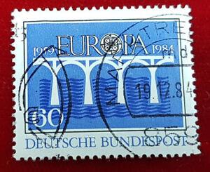 Briefmarke 60 Pfennig Europa 1959 1984 Deutsche Bundespost 1a7 Ebay