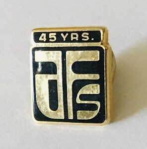 AFS-45-Years-Service-Pin-Badge-Rare-Vintage-F9