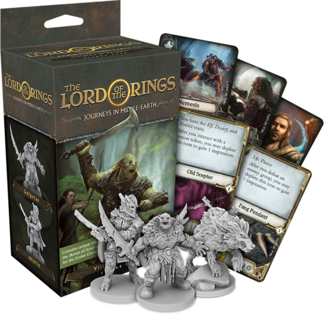 Villains of Eriador expansion pack Journeys in Middle Earth LORD of the RINGS!