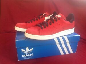 76a0189b8 NEW ADIDAS ORIGINALS STAN SMITH Red M17159 SHOES size US 12 New In ...