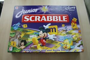 Junior-Scrabble-Disney-Edition-by-Mattel-Board-Game-2006-Complete