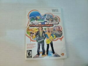 WII Active Life Extreme Challenge Video Game Disc Case Manual