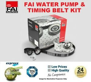 FAI WATER PUMP & TIMING BELT KIT for VW TRANSPORTER Chassis 1.9 TDI 2006-2009