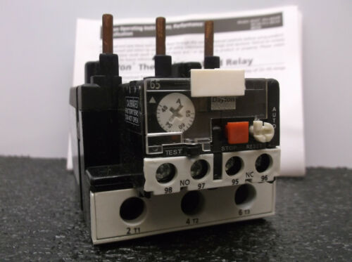 New Overload Relay IEC 48.00 to 65.00A B67