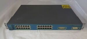 Cisco-Catalyst-WS-C3524-XL-EN-24-Port-Managed-Fast-Ethernet-Desktop-Switch